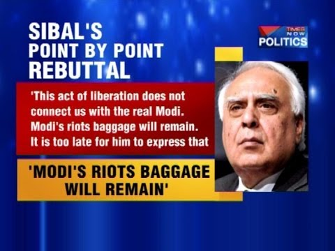 Now, Kapil Sibal takes on Narendra Modi