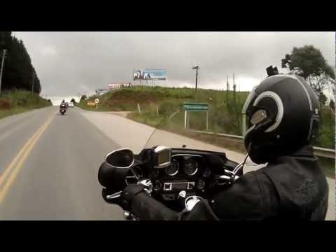 Passeio de moto - chegando em Mafra/SC