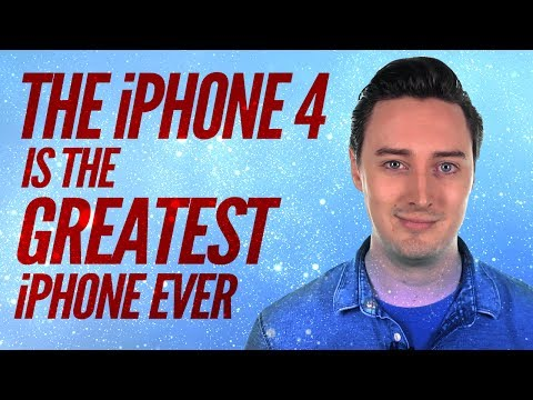 Why the iPhone 4 is the greatest iPhone ever