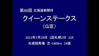 2012年 第60回 クイーンステークス(GⅢ) アイムユアーズ view on youtube.com tube online.