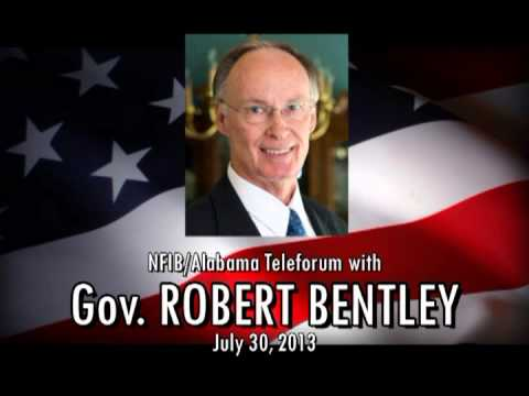 NFIB/Alabama Teleforum with Gov. Robert Bentley