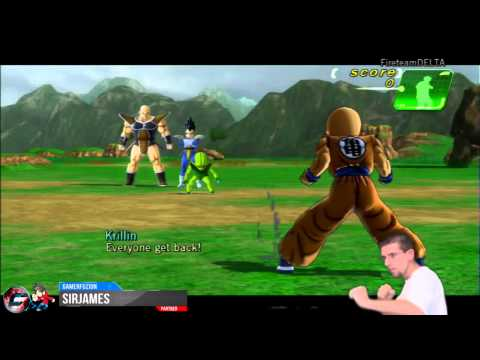 Dragon Ball Z for Kinect Walkthrough Part 1