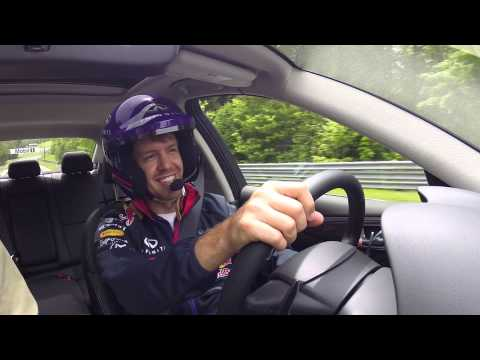 Hot Laps with Sebastian Vettel -- Infiniti Red Bull Racing
