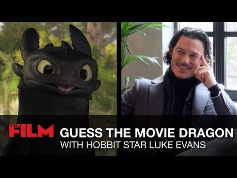 Luke Evans plays Guess the Movie Dragon