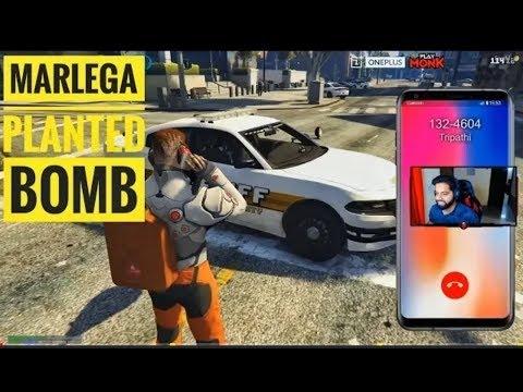 Mr. Marlega Planted Bomb In Police Car!! GTA 5 RP Funny Highlights