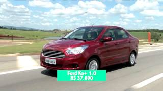 Ford inicia as vendas do Ka Sedan 1,5