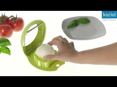 Koziol Giovanni Egg & Mozzarella Slicer