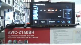 pioneer avic z140bh demo youtube rh youtube com