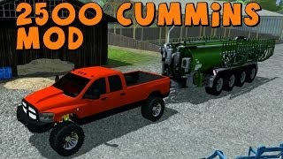 Farming Simulator 2013 Let's Play With Mods Dodge Ram