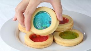 Increíbles galletas transparentes