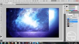 Adobe Photoshop CS5: How To Make A Nebula / Molecular