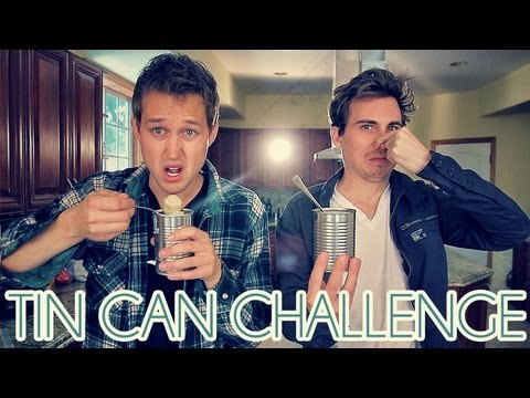 TIN CAN CHALLENGE (With Landon Austin!)