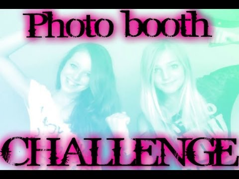 PHOTO BOOTH CHALLENGE~1st video