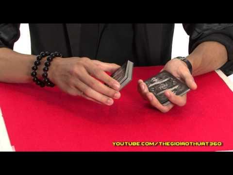 [ Ảo thuật HD ] Kỹ thuật múa bài giữ nguyên vị trí các quân bài