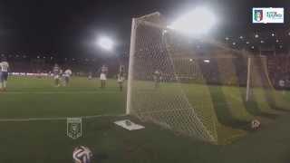 """Insigne sblocca Italia-Fluminense, il gol """"visto"""" dalle Vivo Azzurro Cam - Mondiali 2014"""