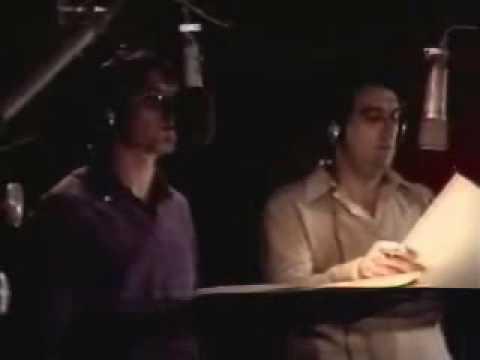 John Denver & Plácido Domingo in Studio - Perhaps Love (1980)