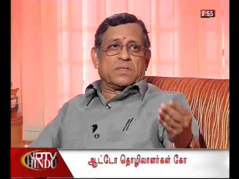 ECONOMIST GURUMURTHY`s  INTERVIEW ON FDI TO NDTV HINDU