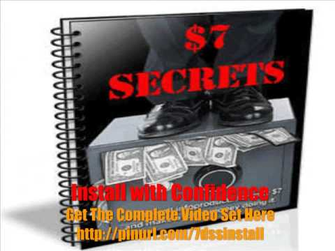 7 Dollar Secrets Script Installation, Install Your 7 Dollar...