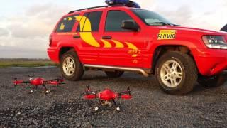 Brandweer Fluvia Zwevegem Drone UAV
