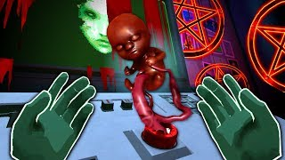 IT LIVES INSIDE THE BUTTON - Please, Don't Touch Anything 3D (VR)