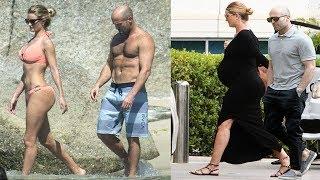 Jason Statham's Wife - 2018 [ Rosie Huntington ]