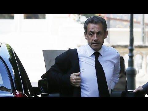France : Nicolas Sarkozy en garde à vue.