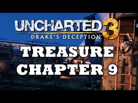 Uncharted 3 Treasure Locations: Chapter 9 [HD]