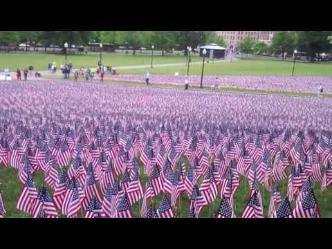 Veterans Day 35,000 Flags