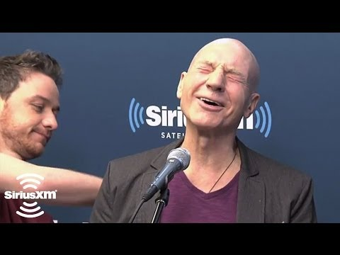 Hugh Jackman Gets Punched By James McAvoy // Entertainment Weekly Radio // SiriusXM