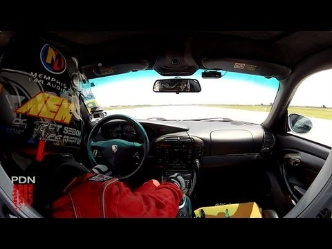 Houston Mile - 174mph 996 Porsche