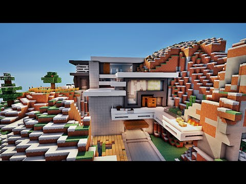 Minecraft maison moderne par Noobcrafter101