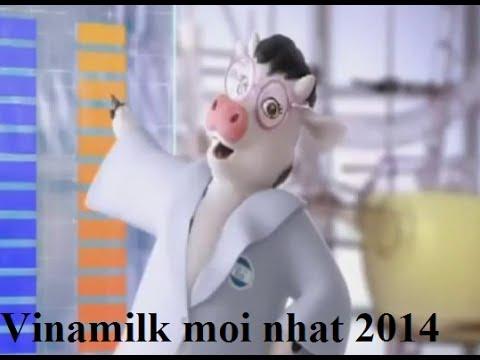 Quảng Cáo Vinamilk mới nhất 2014 - Con bò đeo kính