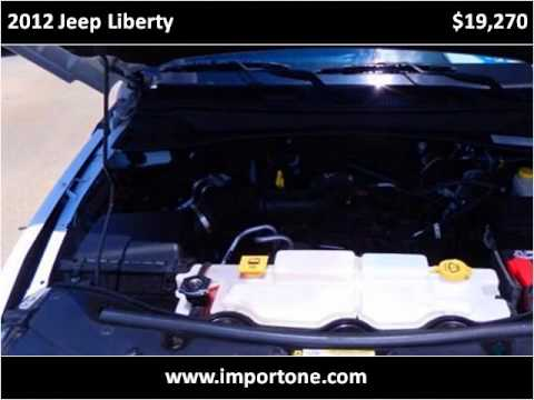 2012 Jeep Liberty Used Cars Baton Rouge LA