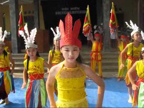 Múa Dòng máu Lạc Hồng Lớp 5A - TH Hoàn Long - Yên Mỹ - Hưng Yên
