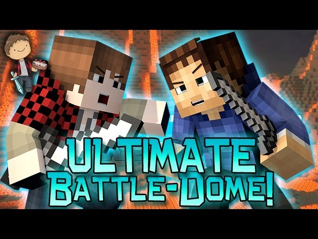 Minecraft: ULTIMATE-BATTLE-DOME w/Mitch & Friends Part 2 - EPIC FAIL AND KILLS!
