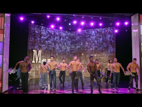 The 'Magic Mike Live' Dancers Perform