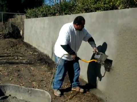 Stucco Sprayer Hopper Gun Youtube