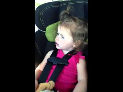 Katy perry roar two year old baby funny singer diva karaoke