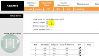 Como Configurar A Porta Modem Wireless ZTE ZXV10 W300 ADSL