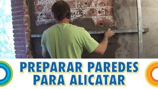 Preparar paredes para poner cerámica