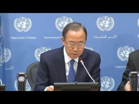 Ban Ki-moon, Pre-opening of the 68th session of the General