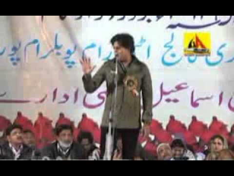 Poet Imran Pratapgarhi at Mushaira, Balrampur - 2013 'Tum kehte ho Faulaad hai...'