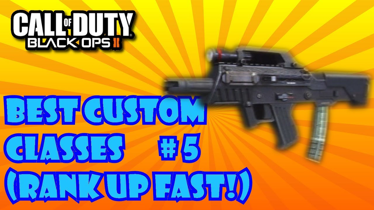 Class set up guide call of duty bo2 best classes youtube