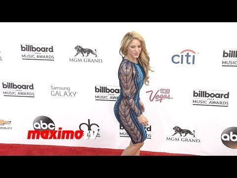 Shakira & Gerard Pique 2014 BILLBOARD MUSIC AWARDS Red Carpet ARRIVALS