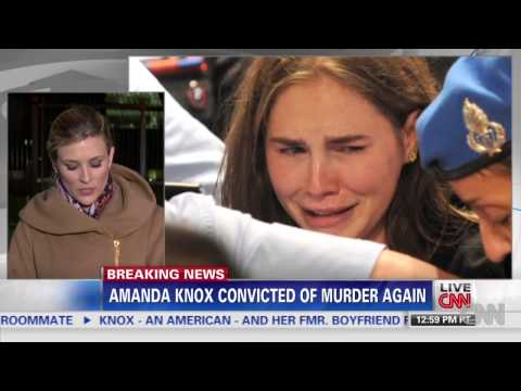 Amanda Knox 'Frightened' By Guilty Verdict and 28 Year Sentence After Being Aquitted