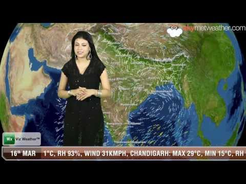 16/03/14 - Skymet Weather Report for India