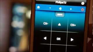 Philips My Remote App For Android (Samsung Galaxy S III