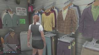 "GTA 5 Online ""TOPLESS FEMALE"" Character Glitch! How To"