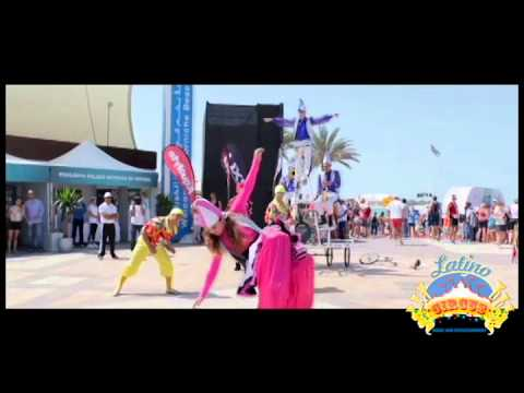 'THE PARADE'    by  Latino Circus dubai uae