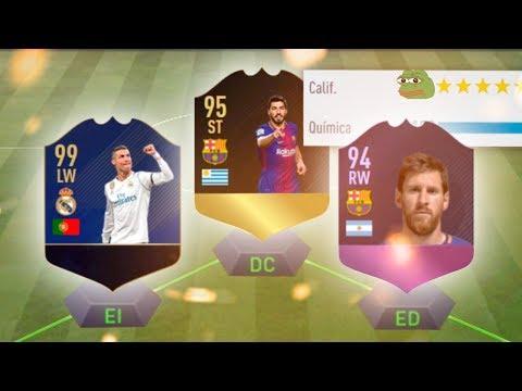 EL MEJOR FUT DRAFT DE FIFA 18??  RETO 192 VALORACION !